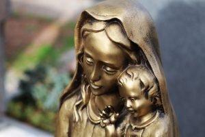 servizi cimiteriali statua di bronzo